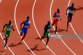 at the National Stadium on Day 10 of the Beijing 2008 Olympic Games on August 18, 2008 in Beijing, China.