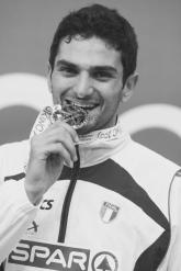 Foto Omega/Giancarlo Colombo. Torino, 07-03-2009 Campionati europei di atletica indoor Torino 2009. Nella foto: Claudio Licciardello