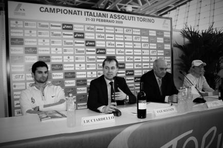 Torino 21/22 Febbraio 2009 Campionati Italiani di Atletica Leggera Indoor foto Giancarlo Colombo/Omega Fotocronache